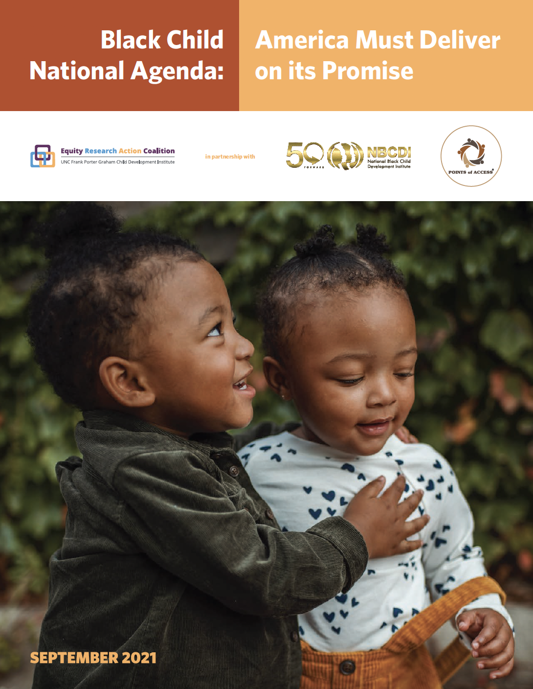 Black Child National Agenda: America Must Deliver on its Promise