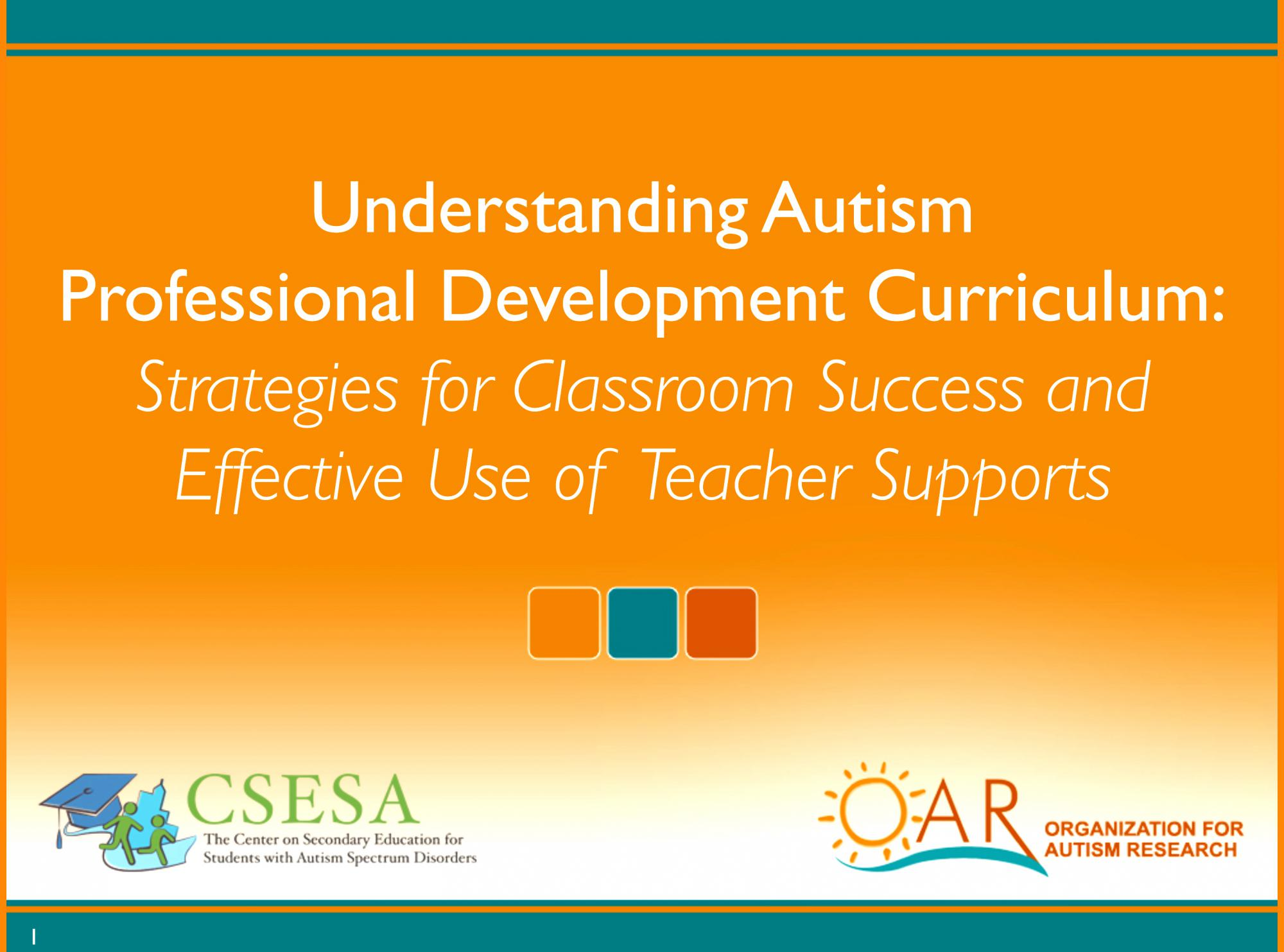 Social Health Children and Youth with Autism Spectrum Disorder