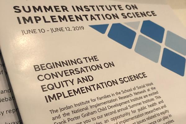 Summer Institute program cover